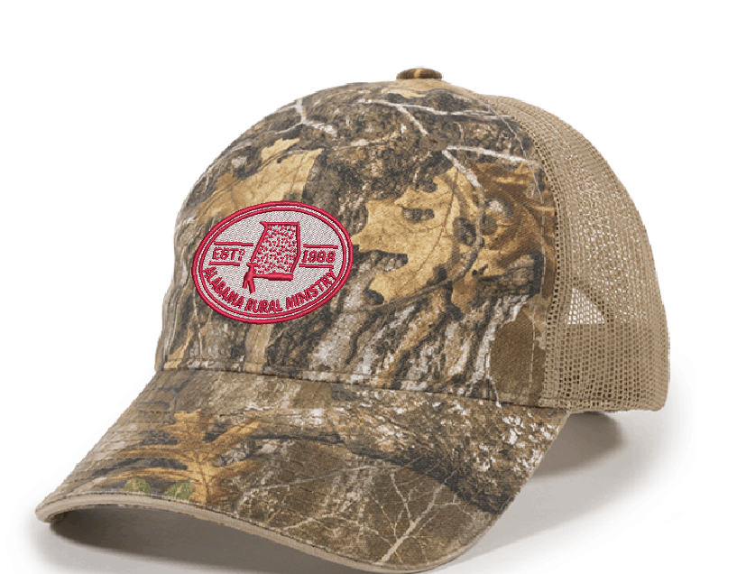8435398e Realtree Edge Camo Hat with Mesh Back | Alabama Rural Ministry